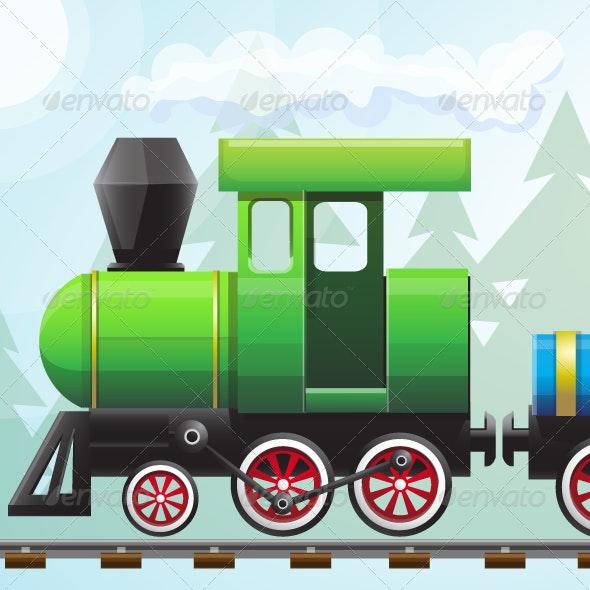 Train Vector - Objects Vectors
