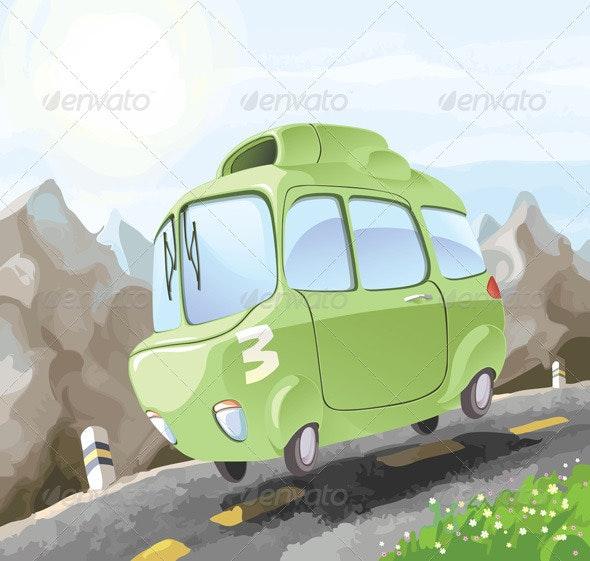 Dangerous Driving - Retro Technology