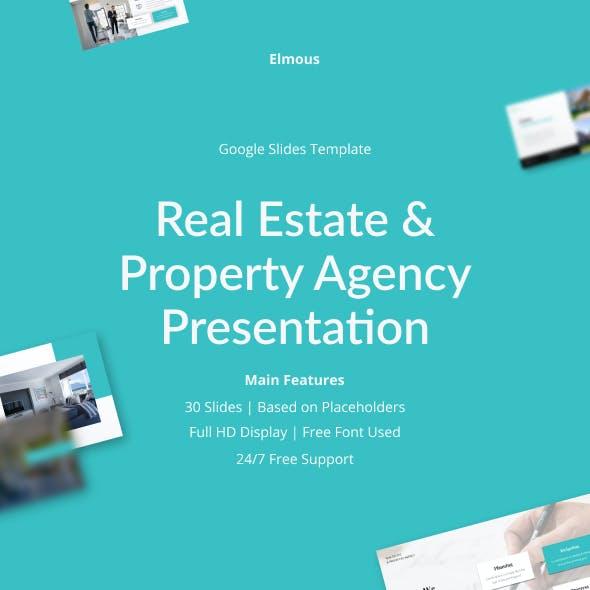 Real Estate & Property Agency Google Slides Presentation Template