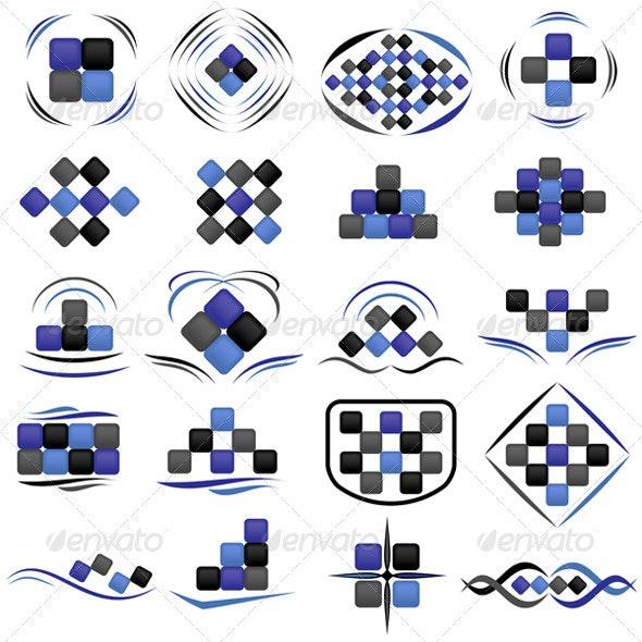 Set of symbols - Concepts Business