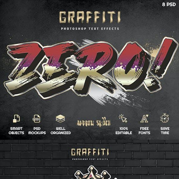 Graffiti Text Effects vol 4