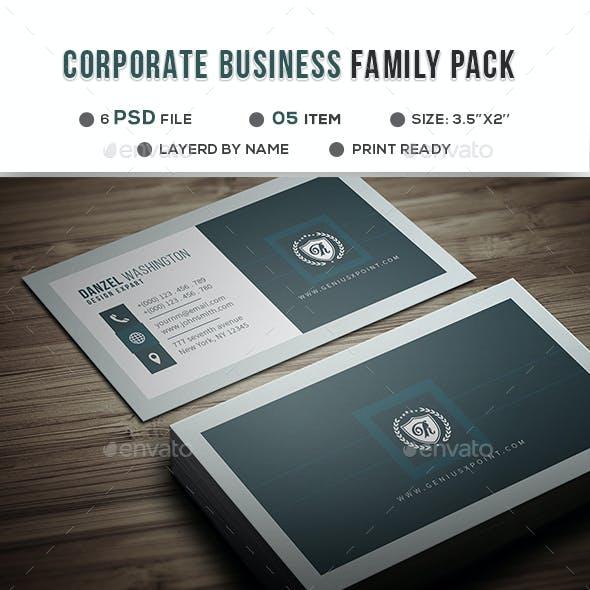 Corporate Family Bundle Vol: 04