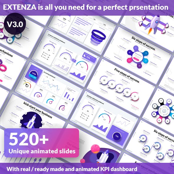 Extenza V3.0 - Ultimate Presentation Template Package