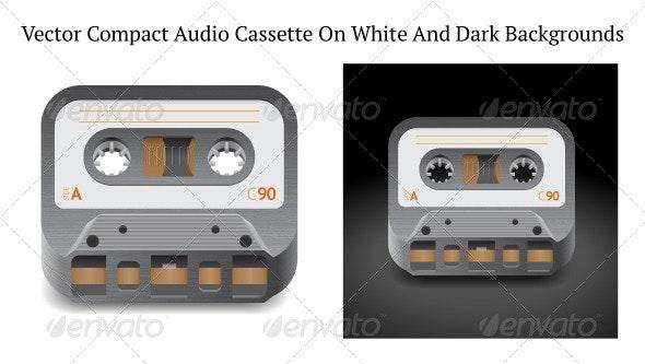 Icon for Audio Cassette - Retro Technology