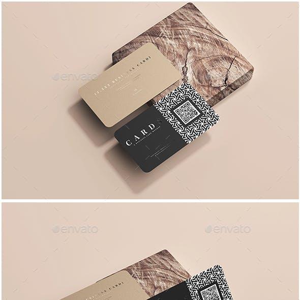 3.5x2 Business Card Mockups