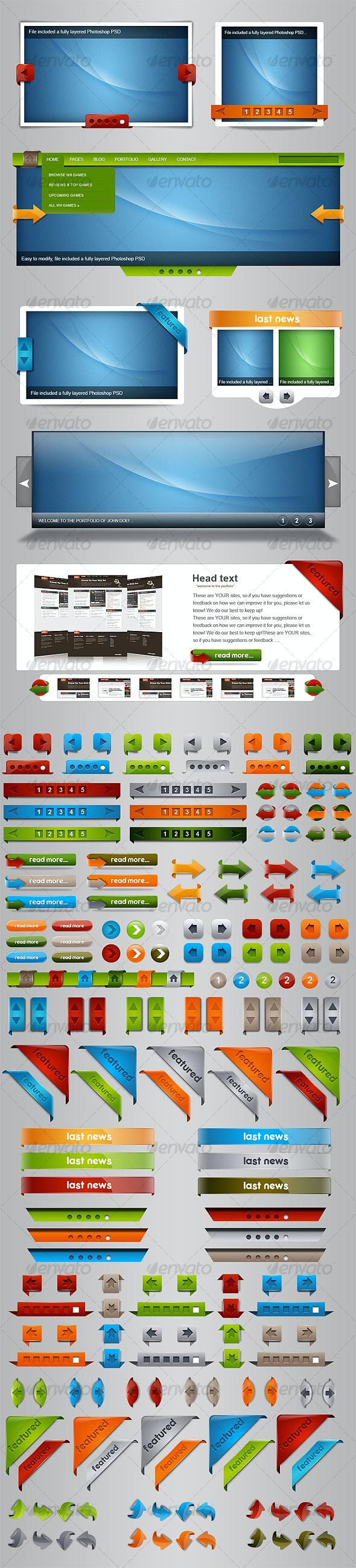 Slider Constructor - Web Elements