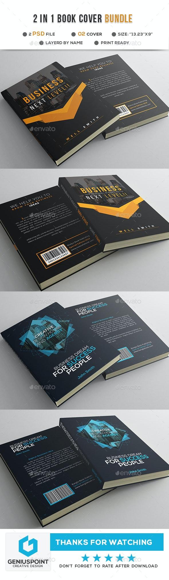 Book Cover Bundle - Miscellaneous Print Templates