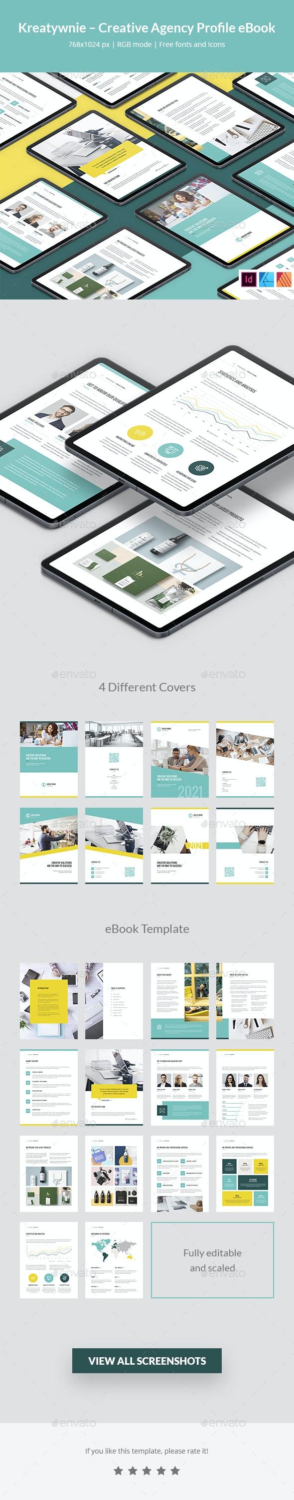 Kreatywnie – Creative Agency Profile eBook - Digital Books ePublishing