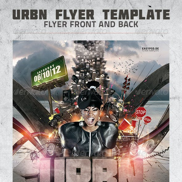 URBN Flyer Template