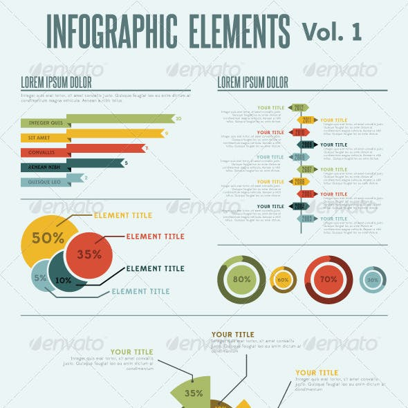 Infographic Elements - Vol. 1