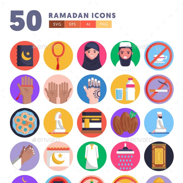 50 Ramadan Icons