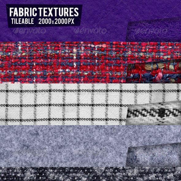 12 Seamless Fabric Textures