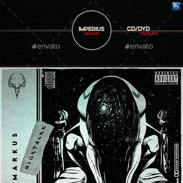 Tech Vibe CD/DVD Cover Template