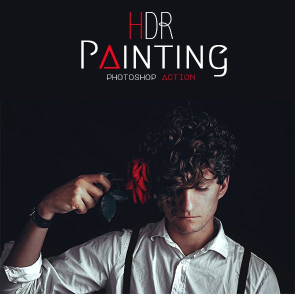 HDR Painting - Photoshop Action