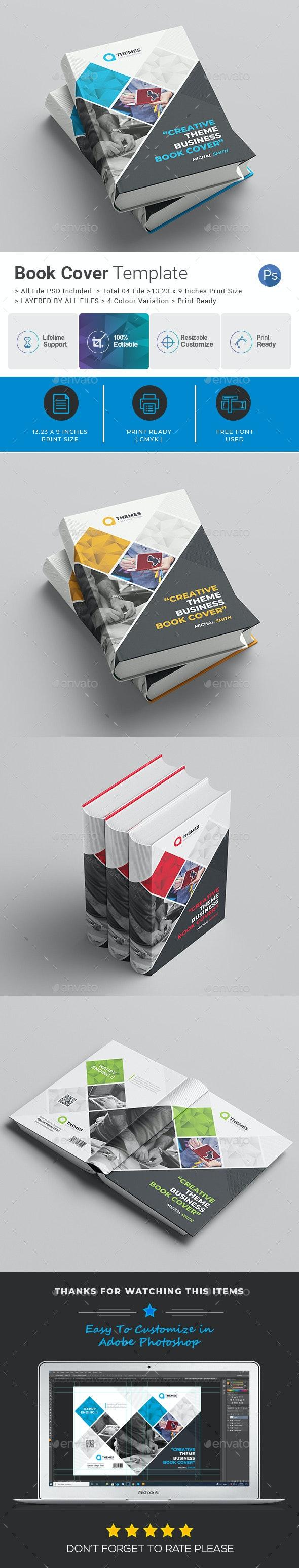 Book Cover Template Vol-3 - Miscellaneous Print Templates