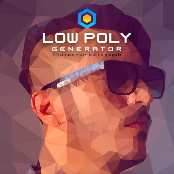 Low Poly Generator - Photoshop Extension