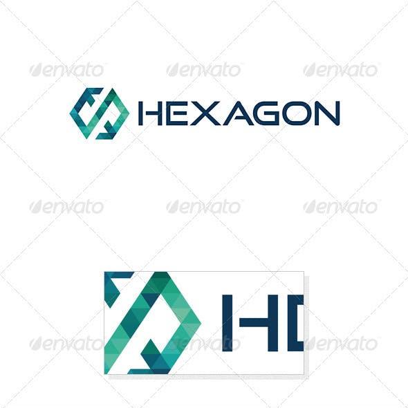 Hexagon Logo Template