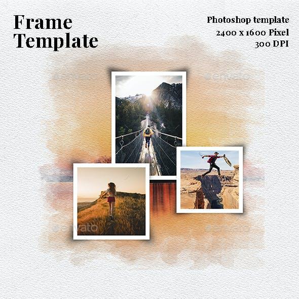 Frame Photo Template V.2
