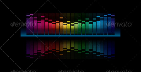 Graphic Equalizer Display - Media Technology