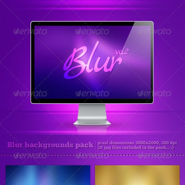 Blur Backgrounds Pack 2