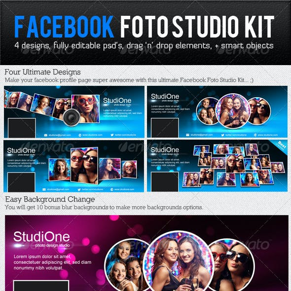 Facebook Foto Studio Kit