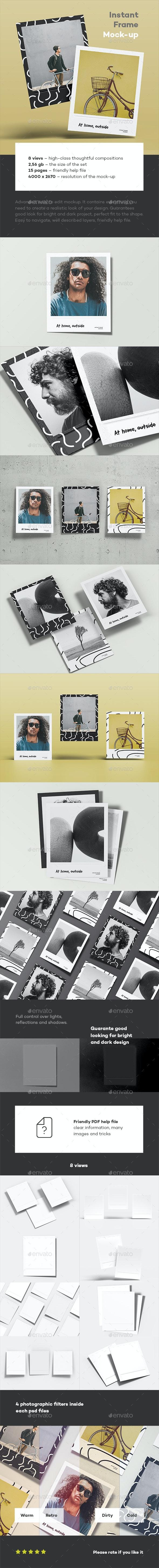 Instant Frame Mokup - Miscellaneous Print