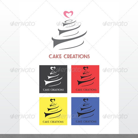 Cake Creations Logo Templates