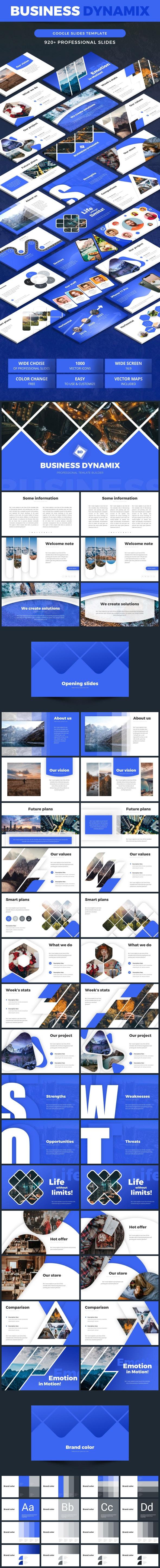 Google Slides Modern Proposal - Google Slides Presentation Templates