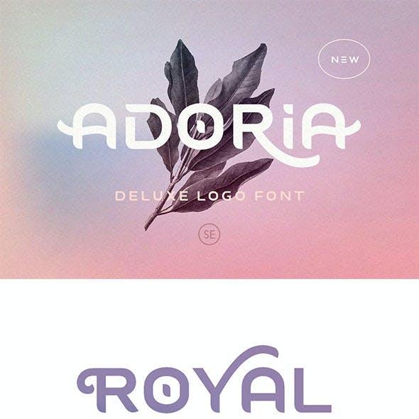 Adoria - Deluxe Logo Font