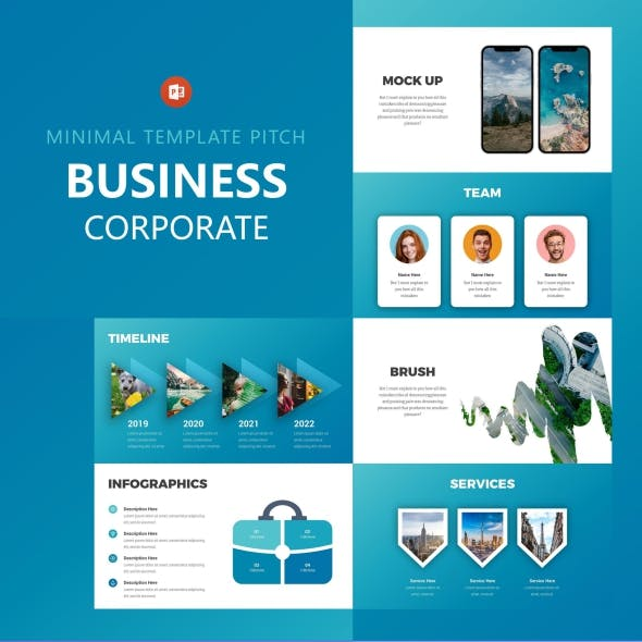 Business Corporate Powerpoint