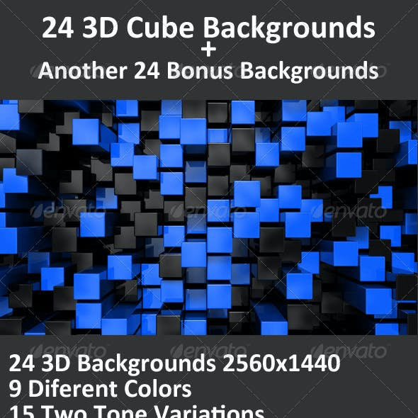 Cube 3D Backgrounds