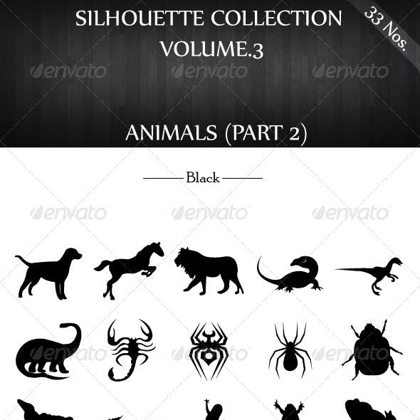 Silhouette Collection Vol.3 - Animals(Part 2)