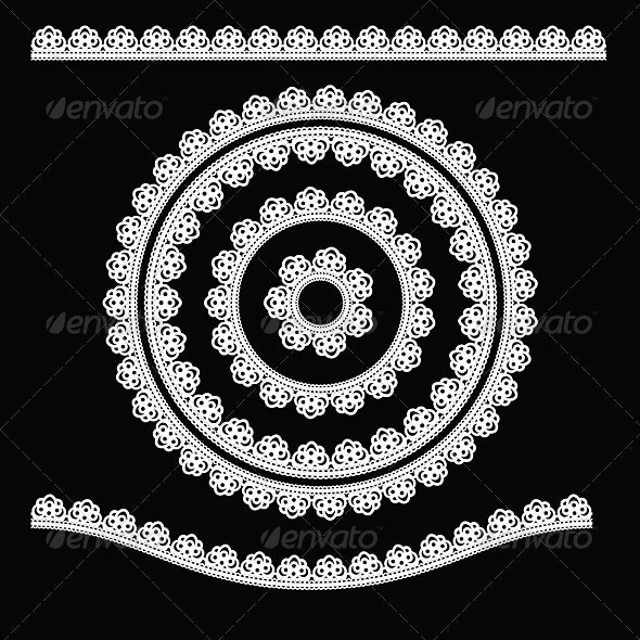 Ornamental round lace  - Patterns Decorative