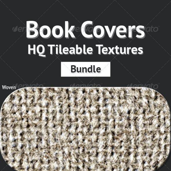 Book Covers - HQ Tileable Textures Bundle