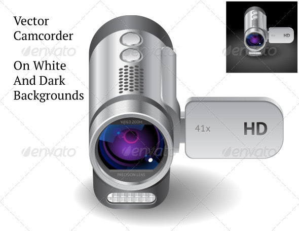 Vector Camcorder - Objects Vectors
