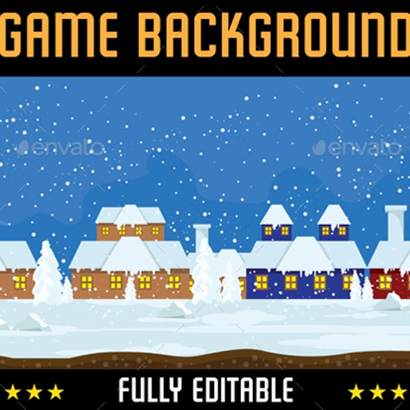 Snow Game Background