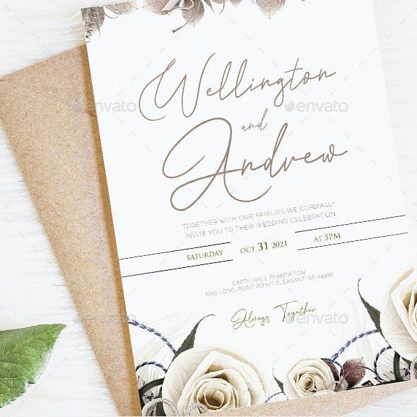 Professional Wedding Invitation Template