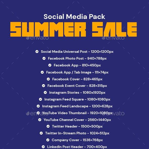 Summer Fashion Sale Media Pack