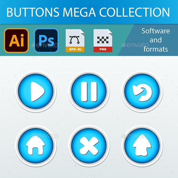 51 Buttons for Games and Apps