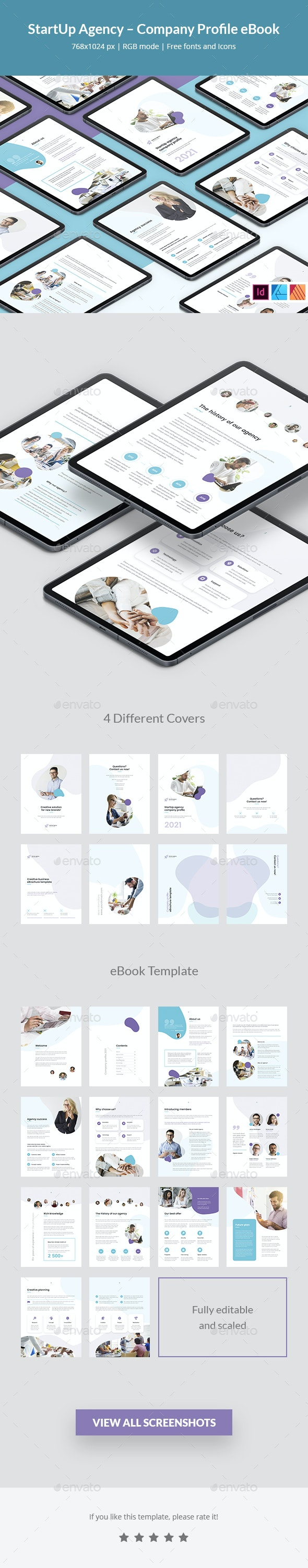 StartUp Agency – Company Profile eBook - Digital Books ePublishing