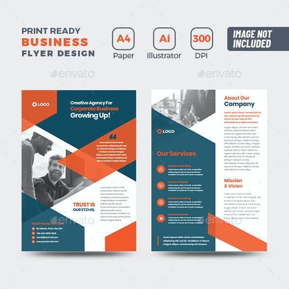 Business Flyer Design   Handout   Pamphlet   Brochure Design