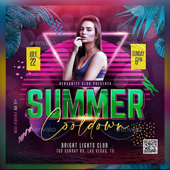 Summer Cooldown Flyer