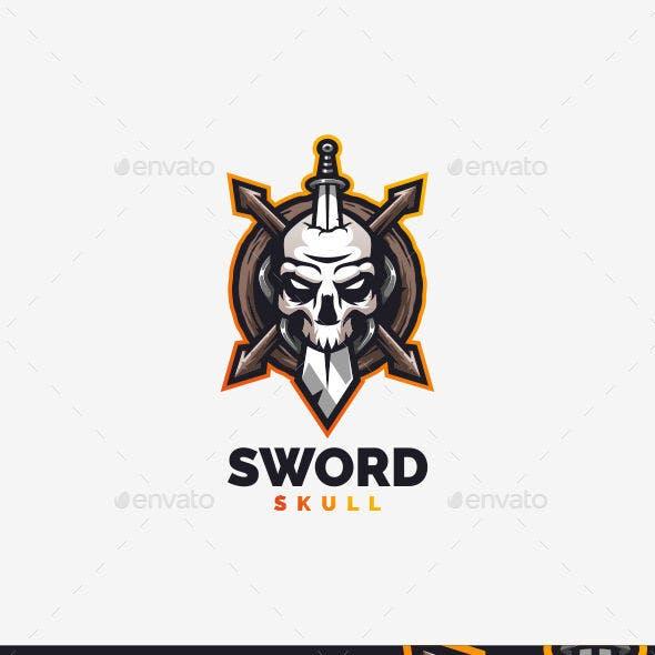 Sword Skull Logo