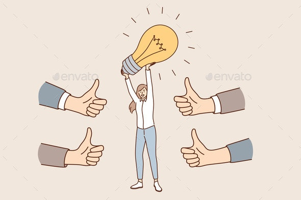 Innovative Business Idea and Approval Concept - Technology Conceptual