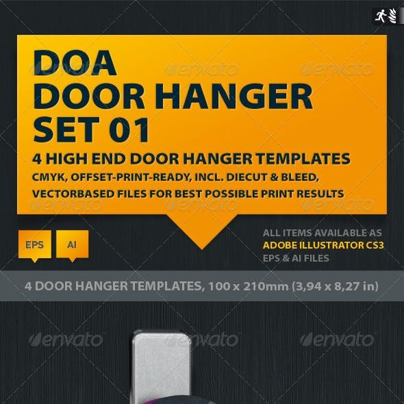 DOA Door Hanger Set 01