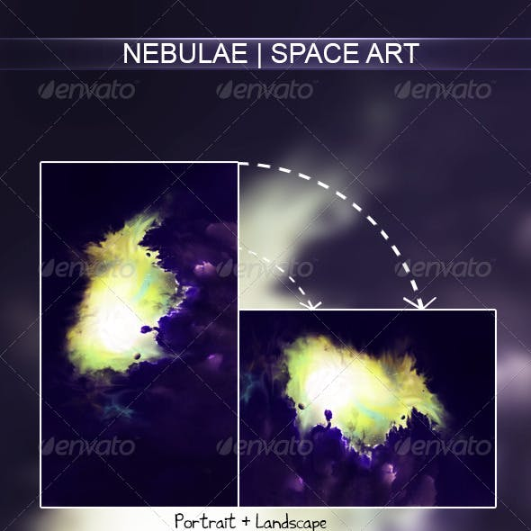 Nebulae | Space Art