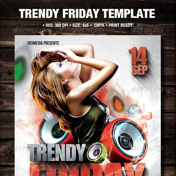 Trendy Friday Flyer