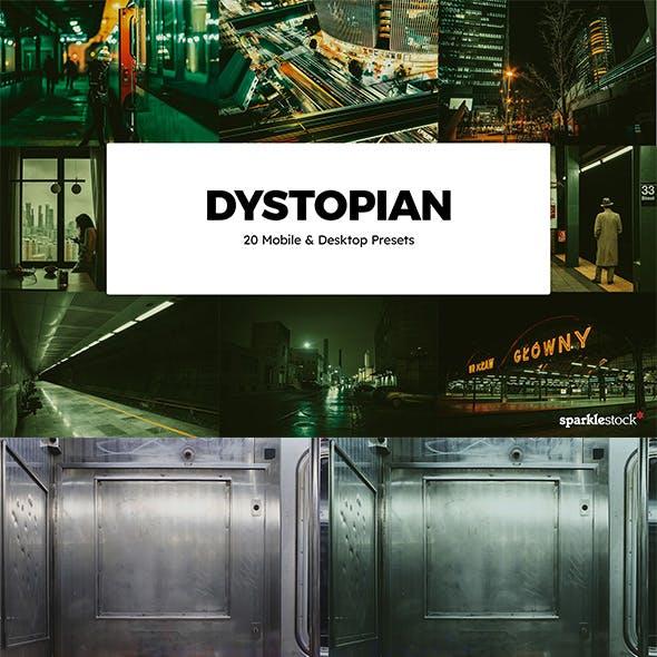 20 Dystopian Lightroom Presets & LUTs