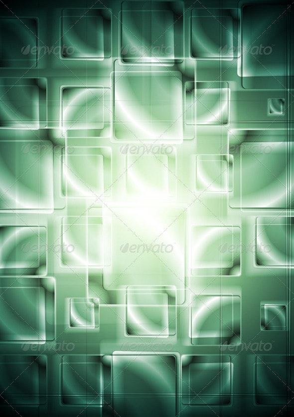 Hi-tech elegant background with squares. Vector - Backgrounds Decorative