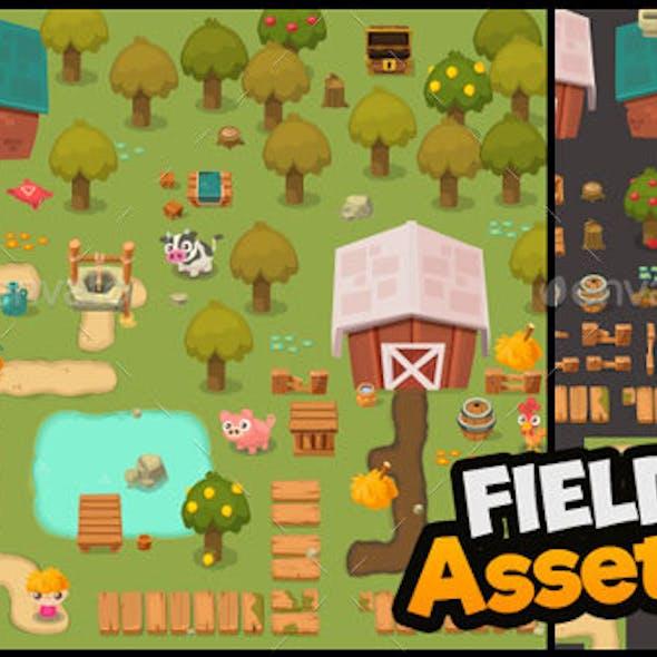 Field Assets - Top Down